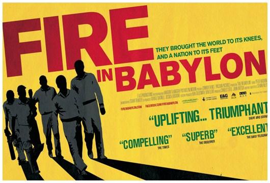 fire in babylon cover